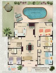 11 best vacation rental marketing floor plans images on pinterest
