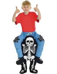 kids costumes skeleton carry me costume for kids kids costumes and fancy dress