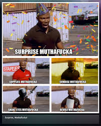 Suprise Mother Fucker Meme - james doakes surprise motherfucker know your meme