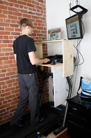 Standing Desk Treadmill Treadmill Desk 11 Steps With Pictures
