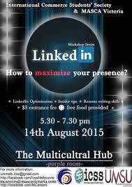Linkedin And Resume Mcareers Past Events