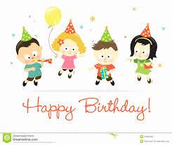 korean birthday korean birthday card new happy birthday kids stock vector image of