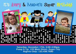 birthday party invitations for twins and siblings