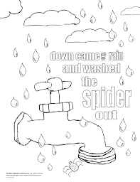 22 itsy bitsy spider coloring pages itsy bitsy spider colouring