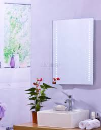 Bathroom Cabinet Mirror Light by Foxhunter Led Illuminated Mirror Bathroom Cabinet Steel Storage