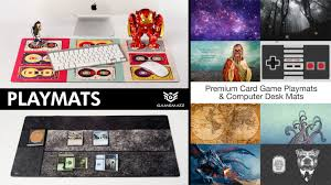 Computer Game Desk by Premium Playmats Card Game Play Mats And Computer Desk Mats By