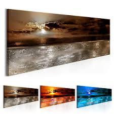 wandbilder wohnzimmer wandbilder abstrakt meer landschaft leinwand bilder wohnzimmer