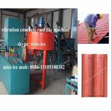 Concrete Roof Tile Manufacturers Kb 125c Hot Vibration Table Concrete Roof Tile Machine Global
