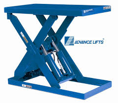 used electric lift table hydraulic scissor lift table made in usa 10 year warranty