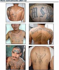 u les mexican gang tattoos identification guide public