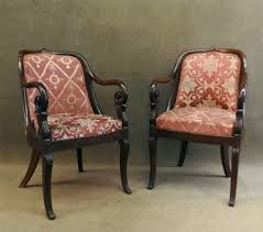 Duncan Phyfe Rose Back Chairs by Good Prices For Good Things At Carlsen Gallery Auction