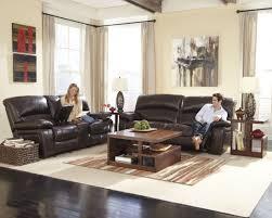 Power Reclining Sofa And Loveseat Sets Damacio Dark Brown 2 Seat Power Reclining Sofa From Ashley