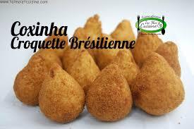 recette cuisine br駸ilienne coxinhas au thon croquettes brésiliennes tchop afrik a cuisine