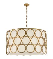 Casual Chandeliers Visual Comfort Sk 5537gi L Suzanne Kasler Casual Alexandra Large