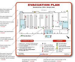 evacuation plan template residential fire evacuation plan free
