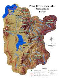 Jordan River Map Site Information Nrcs Utah