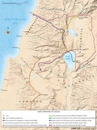 Map Of Israel In Jesus Time Timeline Of Salvation History Understandchristianity Com