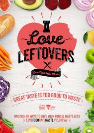 i love leftovers u2013 love food waste red creative team