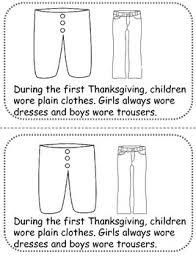 thanksgiving now then nonfiction book activity by
