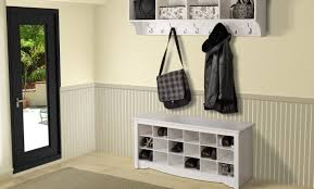 Entryway Bench With Rack Bench Endearing Entryway Bench Seat With Hat Coat Rack Storage