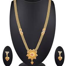wedding gold set buy spargz floral wedding gold plating kempu with pearl