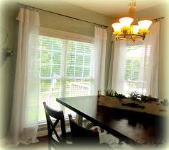 Cheap Cute Curtains Down To Earth Style White Flowing Curtains Easy And Cheap