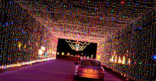 drive by christmas lights prairie lights drive through holiday light park visit grand