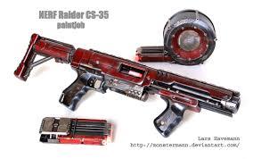 nerf car gun mod nerf raider cs 35 by monstermann nerf pinterest nerf