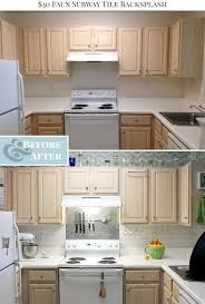 how to put up tile backsplash in kitchen 6 ways to redo a backsplash right the one the budget