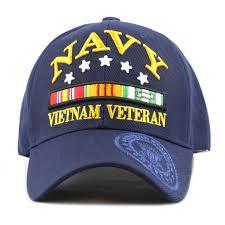 Veterans Flag Depot The Hat Depot 1100 Official Licensed 3d Vietnam Veteran Ribbon