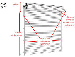 Standard Curtain Length South Africa by Garage Doors Standard Width Garager Sizes Chartgarage Widths