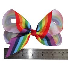 hair bows wholesale wholesale 6 inch rainbow hair bow hair hairpins hairgrips