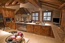cuisine chalet montagne merveilleux cuisine grise plan de travail bois 14 cuisine design