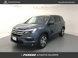2017 new honda pilot ex l w navigation 2wd at round rock honda