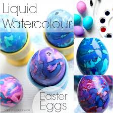 decorating easter eggs with liquid watercolours happy hooligans