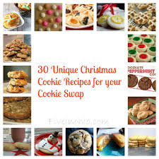 unique christmas cookie ideas christmas recipes