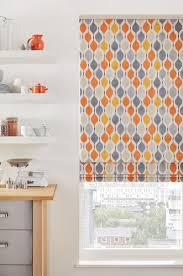 orange roman blinds 15 best ideas orange roller blinds curtain