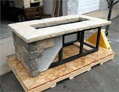 rectangle propane fire pit table polished concrete fire pit in goode va decorative concrete