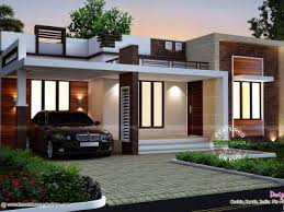 single story modern house plans small one store home design ideas