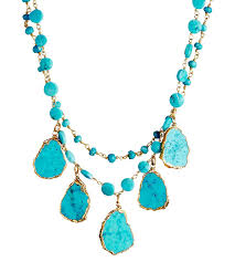 turquoise necklace images Turquoise necklace with agate everything turquoise jpg