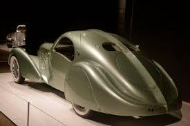 rolling sculpture art deco car exhibit
