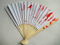 how to make fans wool painted fan craft crafts on sea