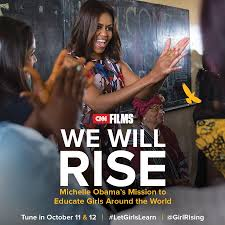 we will rise michelle obama u0027s mission to educate girls around the