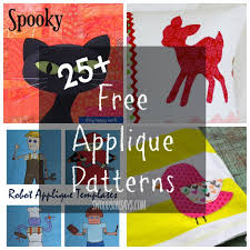applique patterns 25 free applique patterns knit fabric scrap busting swoodson says
