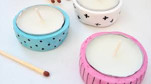 how to make cute polymer clay tea light holders diy home