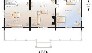 floor plans for cabins 16 x34 with loft plus 6 x34 porch side cabin plans with garage luxamcc org