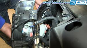 how to install replace parking daytime running lights 2000 06