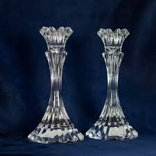 Crystal Candle Sconces Bohemia Glass Elements Block Crystal Candle Holders Candle