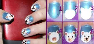 simple red nail art designs u0026 ideas for girls 2013 2014