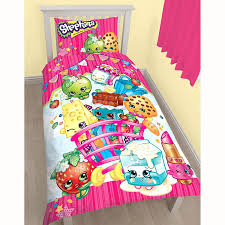 shopkins single duvet cover panel set matching 66